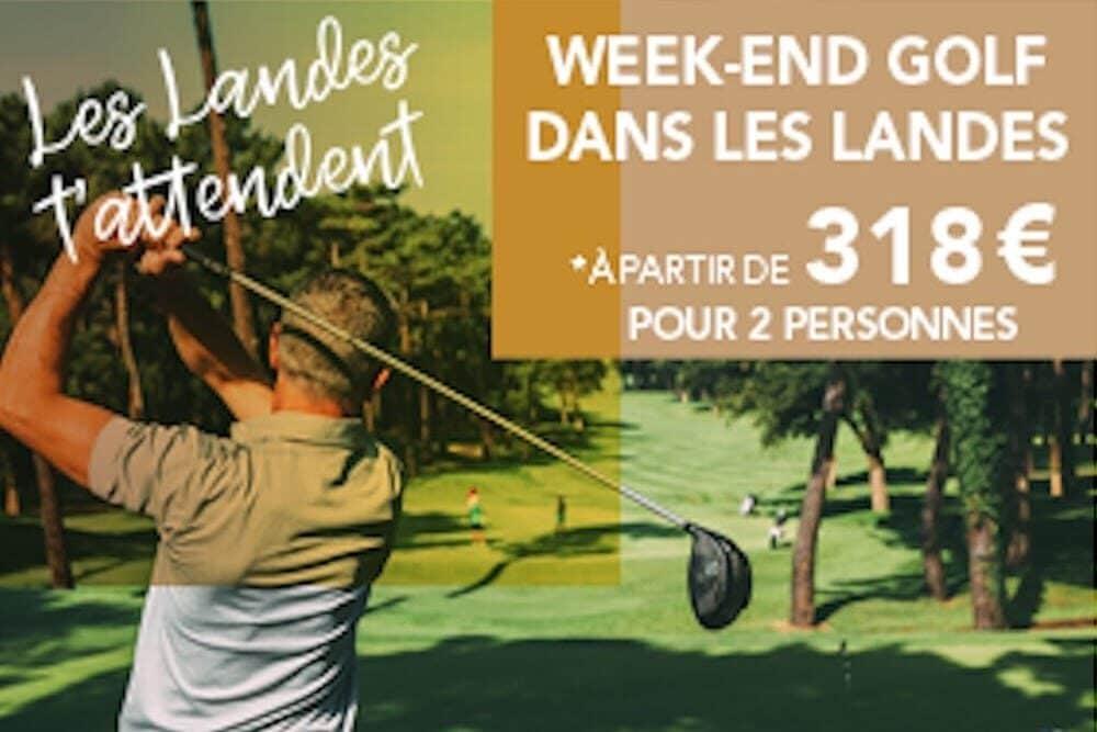 Offre Sejour golfique Hotel Au Bon Coin du Lac Mimizan
